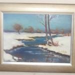 """ks. M. Dubiel - """"Rzeka zimową porą"""" [Wójcza]"""