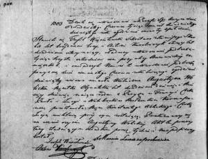 Akt zgonu Augustyny de Kermasson Wolickiej w dniu 18.06.1829 r. (Akt stanu cywilnego Parafii Rzymskokatolickiej pw. św. Krzyża w Warszawie z dnia 20.06.1829 r.)