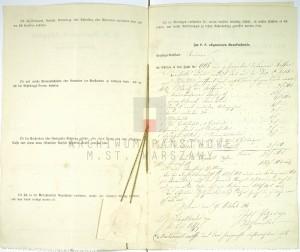 Akt zgonu Konstantego Leona Wolickiegp w dniu 23.09.1861 r. (zał. nr 3)