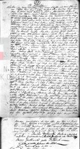 Akt małżeństwa Stanisława Gostkowskiego i Martyny Apolonii Cieński 03.11.1817 r.