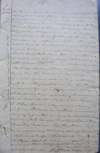 Akt urodzenia Romana Stanisława Edwarda Gostkowskiego 29.12.1843 r.